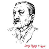 Recep Tayyip Erdogan, President of Turkey since 2014, Prime Minister 2003 - 2014, Justice and Development Party AKP Royalty Free Stock Photos