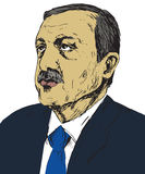 Recep Tayyip Erdogan, President of Turkey since 2014, Prime Minister 2003 - 2014, Justice and Development Party AKP Stock Image
