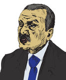 Recep Tayyip Erdogan, President of Turkey since 2014, Prime Minister 2003 - 2014, Justice and Development Party AKP Stock Photos