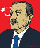 Recep Tayyip Erdogan, President of Turkey since 2014, Prime Minister 2003 - 2014, Justice and Development Party AKP Stock Photography