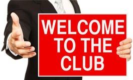 Recepción al club imagen de archivo libre de regalías
