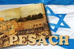 Recepción al día de fiesta de Pesach en Jerusalén imágenes de archivo libres de regalías