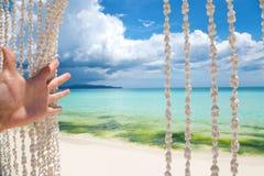 Recepción al paraíso Fotografía de archivo libre de regalías