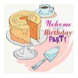 Recepción al partido para mi cumpleaños Imagen de archivo libre de regalías