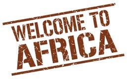 Recepción al sello de África Foto de archivo libre de regalías