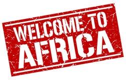 Recepción al sello de África Imagen de archivo libre de regalías