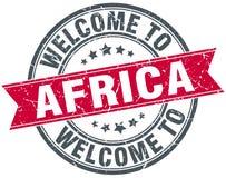 Recepción al sello de África Imágenes de archivo libres de regalías