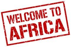 Recepción al sello de África Imagen de archivo