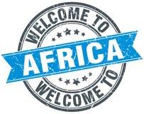 Recepción al sello de África Fotografía de archivo