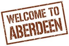 Recepción al sello de Aberdeen Stock de ilustración