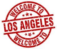 recepción al sello de Los Ángeles stock de ilustración