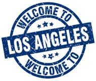 recepción al sello de Los Ángeles ilustración del vector