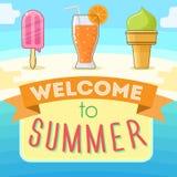 Recepción al verano fotos de archivo