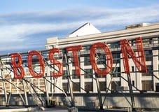Recepción a Boston imagen de archivo