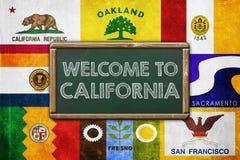 Recepción a California Imagen de archivo