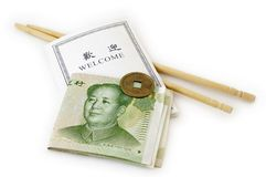 Recepción a China Imagenes de archivo