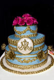 Recepción de la torta Imagen de archivo