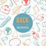 Recepción de nuevo a escuela Imagen de archivo libre de regalías