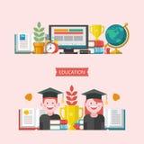 Recepción de nuevo a escuela Logotipo del vector, logotipo en estilo plano Escuela ilustración del vector