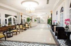 Recepción del hotel foto de archivo libre de regalías