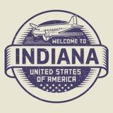Recepción del sello a Indiana, Estados Unidos libre illustration