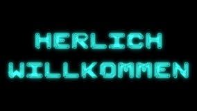 Recepción del texto de Deutsch bajo la forma de pistas impresas de la placa de circuito stock de ilustración