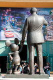 Recepción a Disneylandya imágenes de archivo libres de regalías