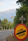 Recepción en Macedonia Imagenes de archivo