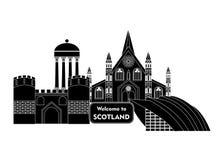 Recepción a Escocia Fotografía de archivo