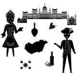 Recepción a Hungría Imágenes de archivo libres de regalías