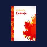 Recepción a la cubierta de Canadá Imagen de archivo