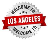 recepción a la insignia de Los Ángeles libre illustration