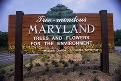 Recepción a la muestra de camino de Maryland fotografía de archivo
