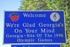 Recepción a la muestra de Georgia fotografía de archivo libre de regalías