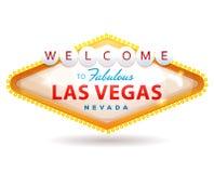 Recepción a la muestra fabulosa de Las Vegas stock de ilustración