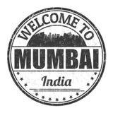Recepción a la muestra o al sello de Bombay ilustración del vector