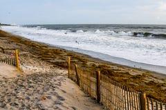 Recepción a la playa de la Florida imagen de archivo