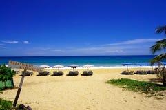 Recepción a la playa de Karon Foto de archivo libre de regalías