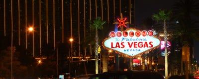 Recepción a la tira de Las Vegas imagenes de archivo