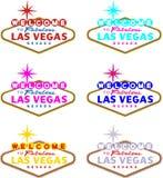 Recepción a Las Vegas ilustración del vector