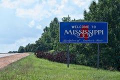 Recepción a Mississippi Fotos de archivo libres de regalías