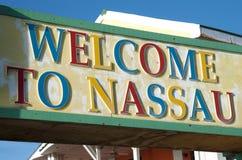 Recepción a Nassau fotos de archivo