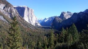 Recepción a Yosemite fotografía de archivo libre de regalías