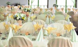 recepcyjny ślub Fotografia Royalty Free