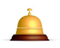 Recepcyjny dzwon ilustracji