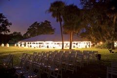 recepcyjny namiot Zdjęcie Stock