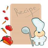 Recept Royalty-vrije Stock Foto