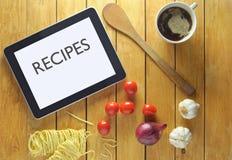 Recept på en minnestavla Royaltyfri Foto