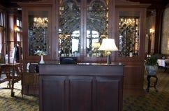 Receptioin lujoso del restaurante Imagenes de archivo