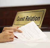 Reception Royalty Free Stock Photo